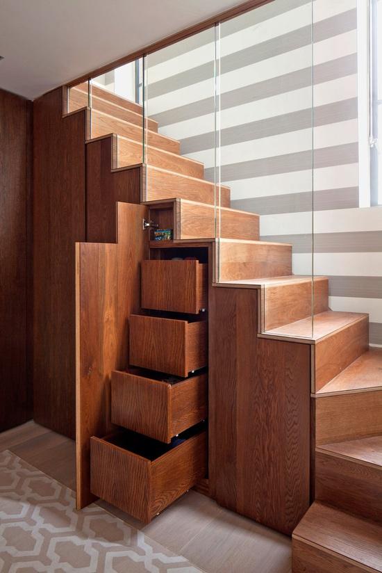 Id e rangement sweet deco - Idee de rangement sous escalier ...
